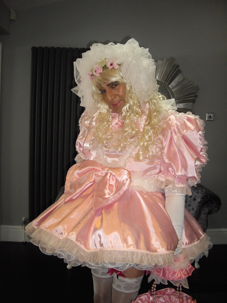 Prissy sissy doll training